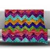 KESS InHouse Natural Flow by Beth Engel Fleece Throw Blanket