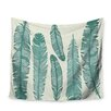 KESS InHouse Balsam Feathers by Original Wall Hanging
