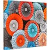 KESS InHouse 'Breaking Free' by Heidi Jennings Graphic Art on Wrapped Canvas