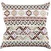 KESS InHouse Tribal Native in Pastel by Nika Martinez Throw Pillow