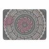 KESS InHouse Culture Cut Boho Mandala by Famenxt Memory Foam Bath Mat