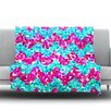 KESS InHouse Scattered by Beth Engel Fleece Throw Blanket