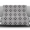 KESS InHouse Circles by Nandita Singh Fleece Throw Blanket