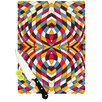 KESS InHouse Stained Glass Cutting Board