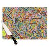 KESS InHouse More Sprinkles Cutting Board