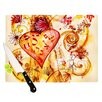 KESS InHouse Tree of Love Cutting Board