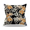 KESS InHouse Crocus by Gill Eggleston Throw Pillow