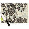 KESS InHouse Java Leaf Cutting Board