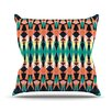 KESS InHouse Triangle Visions by Akwaflorell Throw Pillow