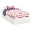 South Shore Litchi Twin Mate's Bed with Storage