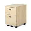 South Shore Interface 2 Drawer Mobile Vertical File