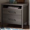 South Shore Gravity 2 Drawer Nightstand