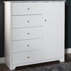 South Shore Vito 5 Drawer Chest