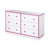 South Shore Logik 6 Drawer Dresser