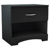 South Shore Step 1 Drawer Nightstand