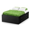 South Shore Lazer Full Platform Customizable Bedroom