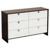 South Shore Cookie 6 Drawer Double Dresser