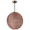 Maxim Lighting Twisp 1 Light Globe Pendant