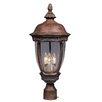 Maxim Lighting Knob Hill VX 3 Light Outdoor Post Light