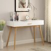 Convenience Concepts Oslo 1 Drawer Artistic Writing Desk