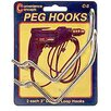 "Convenience Concepts 3"" Double Loop Pegboard Hook"