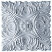 "Ekena Millwork Acanthus 6 1/8""H x 6 1/8""W x 3/4""D Leaf with Beads Rosette"