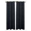 Dainty Home Moderna Curtain Panel (Set of 2)