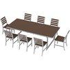 Elan Furniture Kinzie 9 Piece Dining Set
