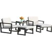 Elan Furniture Vero 5 Piece Lounge Seating Group