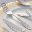 Ten Strawberry Street Parisian Gold Stainless Steel Dinner Fork (Set of 4)
