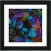 "Studio Works Modern ""Naomi - Blue"" by Zhee Singer Framed Fine Art Giclee Painting Print"