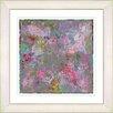 "Studio Works Modern ""Red Nova"" by Zhee Singer Framed Fine Art Giclee Painting Print"
