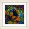"Studio Works Modern ""Naomi - Orange"" by Zhee Singer Framed Fine Art Giclee Painting Print"