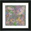 "Studio Works Modern ""Orange Nova"" by Zhee Singer Framed Fine Art Giclee Painting Print"