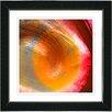 "Studio Works Modern ""Orange Crush"" by Zhee Singer Framed Fine Art Giclee Painting Print"