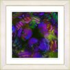 "Studio Works Modern ""Naomi - Purple"" by Zhee Singer Framed Graphic Art in Purple"