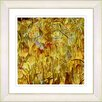 "Studio Works Modern ""Golden Tulip Garden"" by Zhee Singer Framed Fine Art Giclee Painting Print"