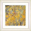 "Studio Works Modern ""Tulip Garden - Orange"" by Zhee Singer Framed Fine Art Giclee Painting Print"