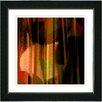 "Studio Works Modern ""Orange Windfall"" by Zhee Singer Framed Graphic Art"