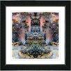 "Studio Works Modern ""Enchanted Garden"" by Mia Singer Framed Fine Art Giclee Painting Print"