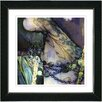 """Studio Works Modern """"Green Tattoo"""" by Mia Singer Framed Fine Art Giclee Photographic Painting Print"""