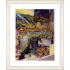"""Studio Works Modern """"Stella Pastry & Cafe"""" by Mia Singer Framed Fine Art Giclee Photographic Print"""