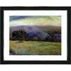"""Studio Works Modern """"Meadow After the Rain"""" by Zhee Singer Framed Fine Art Giclee Painting Print"""