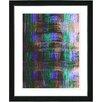 "Studio Works Modern ""Alchemical Table - Purple"" by Zhee Singer Framed Fine Art Giclee Painting Print"