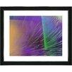 """Studio Works Modern """"Tango Dreams - Purple Haze"""" by Zhee Singer Framed Fine Art Giclee Painting Print"""
