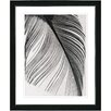 "Studio Works Modern ""Feather"" by Zhee Singer Framed Fine Art Giclee Painting Print"