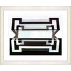 "Studio Works Modern ""Hexnocular I"" by Zhee Singer Framed Painting Print"