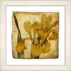 Studio Works Modern Vintage Botanical No. 46A by Zhee Singer Framed Painting Print
