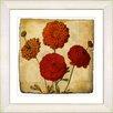 Studio Works Modern Vintage Botanical No. 50A by Zhee Singer Framed Giclee Print Fine Wall Art