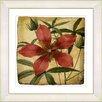 Studio Works Modern Vintage Botanical No. 22A by Zhee Singer Framed Painting Print